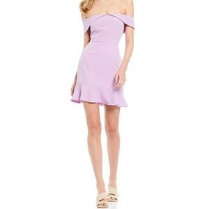 Gianni Bini Lavender Dress